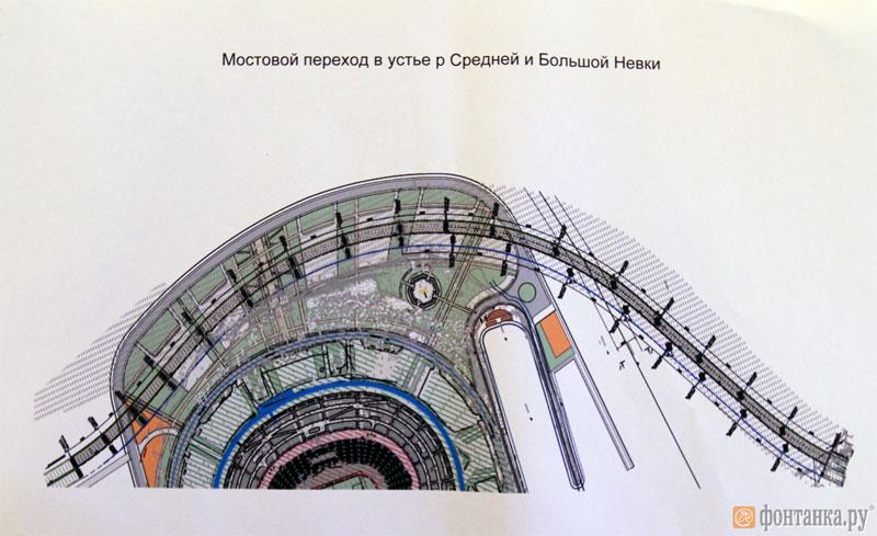 Центральный участок Западного скоростного диаметра.
